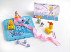Goldiblox! A toy for girls that gets them interested in engineering instead of princesses!  http://cdn.shopify.com/s/files/1/0178/6531/t/2/assets/prod01.jpg