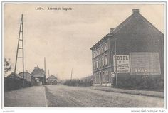 "17272g GARE - HOTEL ""Du Commerce"" - Luttre - 1911"