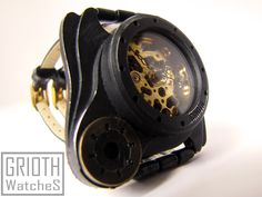 Steampunk, industrial waych by Grioth, Poison I-VY