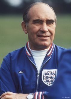 Sir Alf Ramsey, the only man, so far, to have taken England to World Cup glory. Credit: Colorsport.