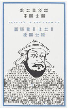 """""""Travels in the Land of Kubilai Khan""""        * Marco Polo   Penguin Books Ltd"""