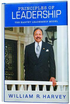 HU President Harvey Shares Leadership Principles In Book