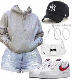 Boujee Outfits, Baddie Outfits Casual, Cute Lazy Outfits, Swag Outfits For Girls, Teenage Girl Outfits, Cute Swag Outfits, Girls Fashion Clothes, Casual School Outfits, Teenager Outfits