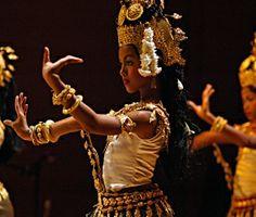 Cambodian dancers.