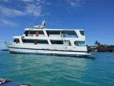 A typical Galapagos cruise boat.