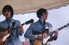 Miss both of them: #george harrison #john lennon # the beatles