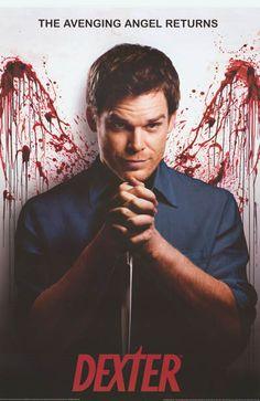 Dexter Avenging Angel Michael C Hall TV Show Poster 24x36