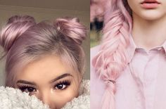 cabelo, hair, rosa, pastel, bebe, pink, inspiração, ideias, fotos, acho tendencia