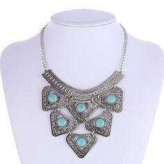 Zix  Arooz Turquoise Beads Necklace