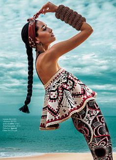Marie Claire Brazil August 2014 | Marcelia Freesz by Fabio Bartelt
