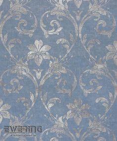 tapete barock struktur blau gr n gold tapeten rasch textil angelica 109536 online bestellen. Black Bedroom Furniture Sets. Home Design Ideas