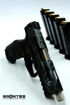 HK VP9 custom for Brontes firearms