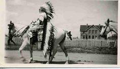 Blackfoot (Siksika) man - 1925