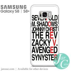 Avenged Sevenfold Quotes forever Phone Case for Samsung Galaxy S8 & S8 Plus