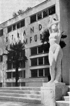 Budapest, Palatinus Strand, 1937. / Janáky István