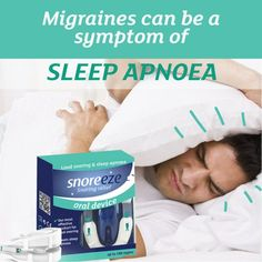 Do you ever wake up with a headache? Watch out - migraines and headaches can be a symptom of sleep apnoea. Obstructive Sleep Apnoea, Headache Symptoms, What Is Sleep, Snoring, Migraine, Disorders, Personal Care, Watch, Self Care