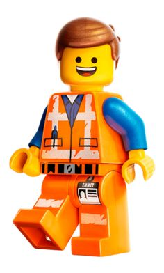 Emmet Brickowski and Wyldstyle min doll figure building toy gift for children