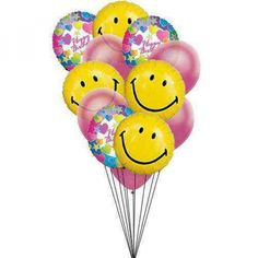 Grandcelebration BirthdayBalloons Birthday Balloon Delivery Bouquet Balloons Gifts