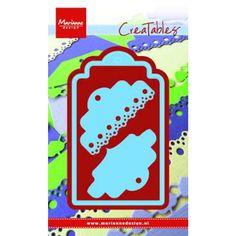 Marianne Design creatables die lr0412 - labels cotton lace