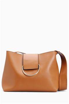 Tan Ring Detail Shoulder Bag Latest Handbags 59e13bdadfc47
