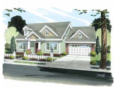 Home Plan HOMEPW75235 is a gorgeous 1188 sq ft, 2 story, 3 bedroom, 2 bathroom plan influenced by  Craftsman  style architecture.