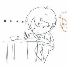 Ren's Love Letter : Told In Comics ~ Part 2 of 3
