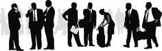 Vectores libres de derechos: BusinessGetTogether
