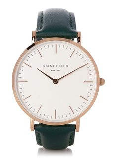 Forest green Bowery watch | Rosefield | Women's Watches: Shop Online in Canada | Simons