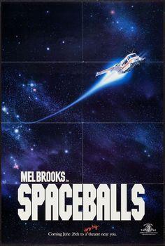 Spaceballs - 1982 - movie poster - John Alvin art - Very Fine+ (8.5)