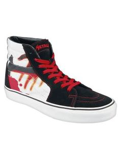 Mycket snygga Vans-skor, med design frn Metallicas klassiker Kill em all!
