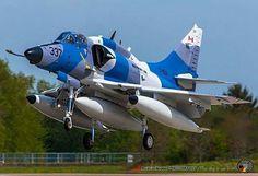 A4 Skyhawk aircraft Discovery Air CF-629