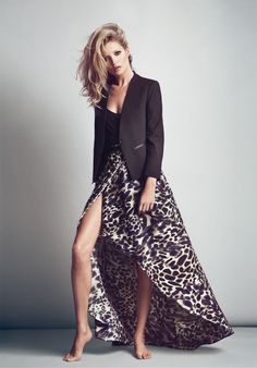 Want. Darn my shopping spree on dresses as if late, I'm set till next year :( Kate Moss | Mango F/W '12 Ad Campaign