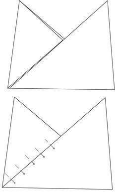 Origami Bento Fat Quarter Bag Tutorial // VeryShannon.com #sewing #tutorial #origami #bento #bag
