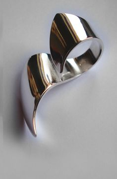 THERESA BURGER, FLOW RING: gehry for your hand.