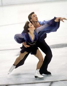 Whenever I hear a certain kind of music I always like to imagine that I'm ice dancing. I've never skated before in my life, if you don't count the time I slipped and fell on the ice in the parking lot, but I feel like if I had the right partner I could definitely pull off a 'Torvill & Dean.'  I can dream, can't I!