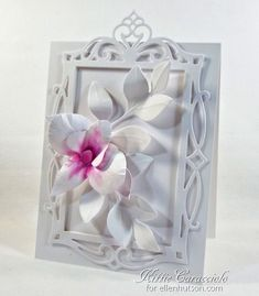 Fancy Framed Orchid - made by kittie747