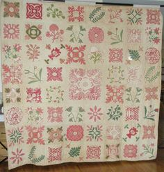 Chester County Criswell Quilt, PA, 1852