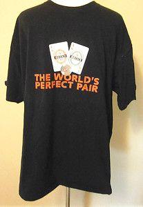 Mens Size XL Becks Beer & Premier Light German BEER, Pair of Aces, Cards, T Shirt. $6.99