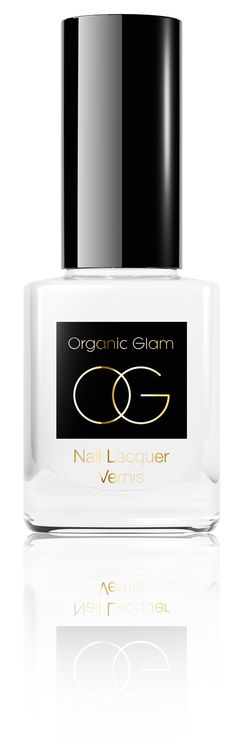 Organic Glam Nail Polish French White