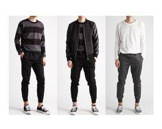 편안한 허리밴딩의 조거 슬랙스팬츠-slacks11 - [존클락]30대 남자옷쇼핑몰, 깔끔한 캐쥬얼 데일리룩, 추천코디