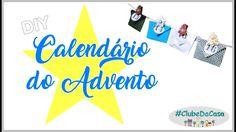 DIY Calendário do advento | Natal colorido #clubedacasa