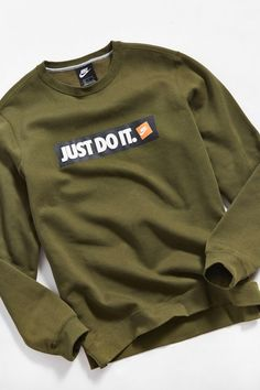 e6a7b8810a Nike Just Do It Crew-Neck Sweatshirt