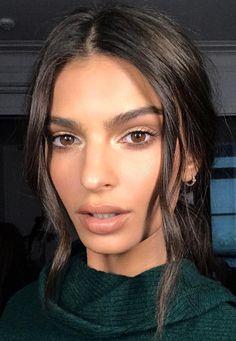 ♥️ Pinterest: DEBORAHPRAHA ♥️ Emily ratajowsky makeup