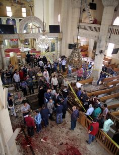 At least 38 people have been killed after two explosions targeting Coptic Christians in Tantra and Alexandria today ISIS church bombings in Egypt kills 47...Palm Sunday horror...   They came to pray and they died...