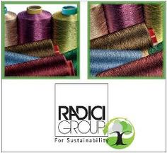 R-Radyarn is an eco-friendly yarn made using 100% PET bottles. R-Radyarn is eco-sustainable, reducing energy consumption and lowering CO2 emmisions. It is extremely versatile being used for a wide range of applications from technical sportswear to intimate wear, available in a varity of counts, colours and lustres.The process of recycling to make an eco-friendly yarn is important for the developments in the textile indusry in which recycling and reducing waste is vital.