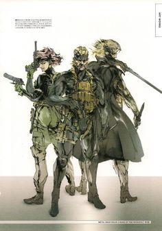 Yoji Shinkawa - The Art of Metal Gear Solid 4: Guns of The Patriots - Synteza historii i sztuki