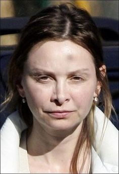 Calista Flockhart Harrison Ford, Natural Face, Au Natural, Photoshop, Without Makeup, Celebs, Celebrities, Body Image, You Are Beautiful