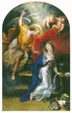 Peter Paul Rubens (1577–1640) - The Annunciation (between 1608 and 1628) - oil on canvas