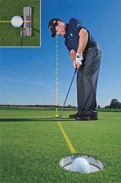 Tom Watson - two keys for better short putts.