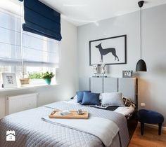 Z heksagonem-realizacja - Sypialnia, styl nowoczesny - zdjęcie od Fabryka Nastroju